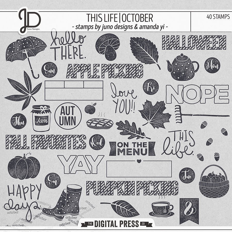 This Life | October - Stamps
