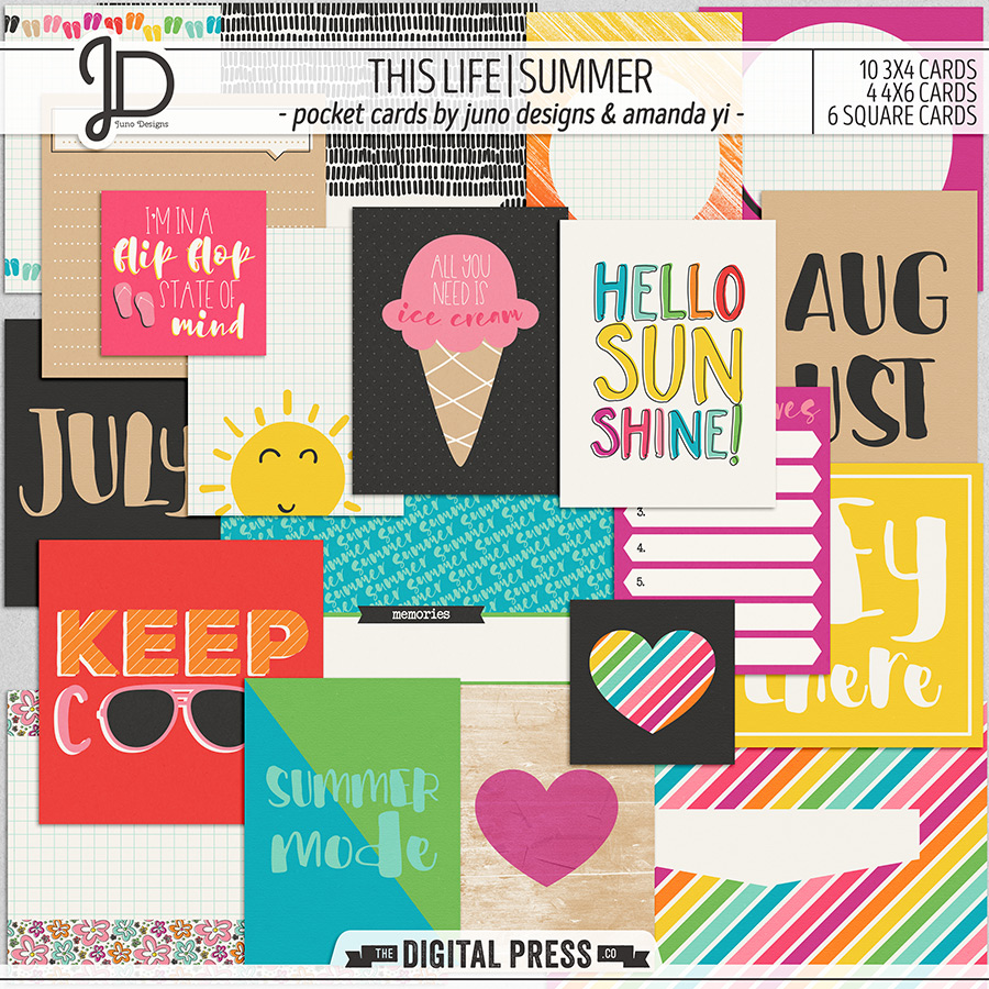 This Life | Summer - Pocket Cards
