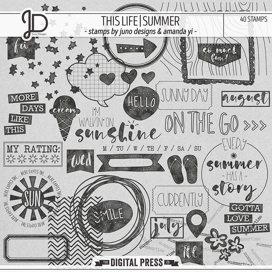 This Life | Summer - Stamps