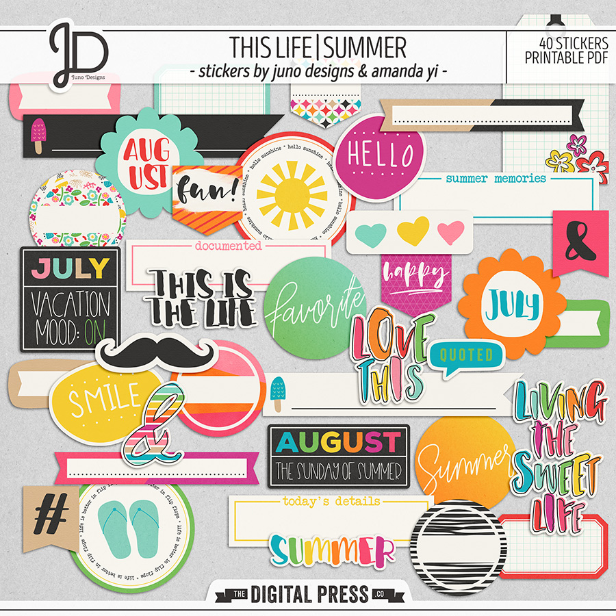 This Life | Summer - Stickers