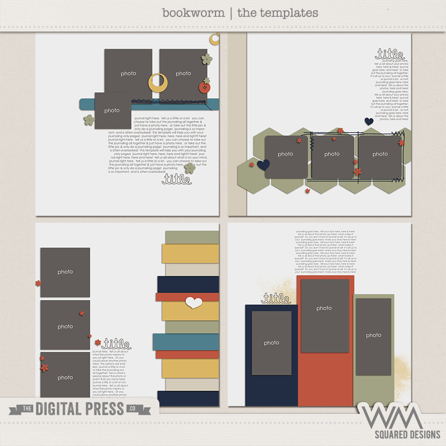 Bookworm | The Templates
