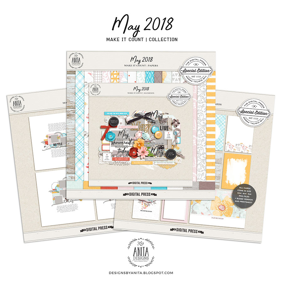 Make it count: May 2018   collection