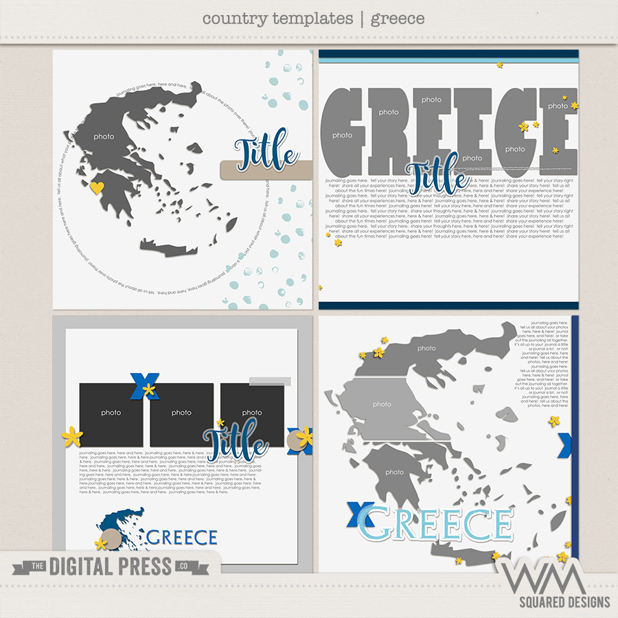 Country Templates | Greece