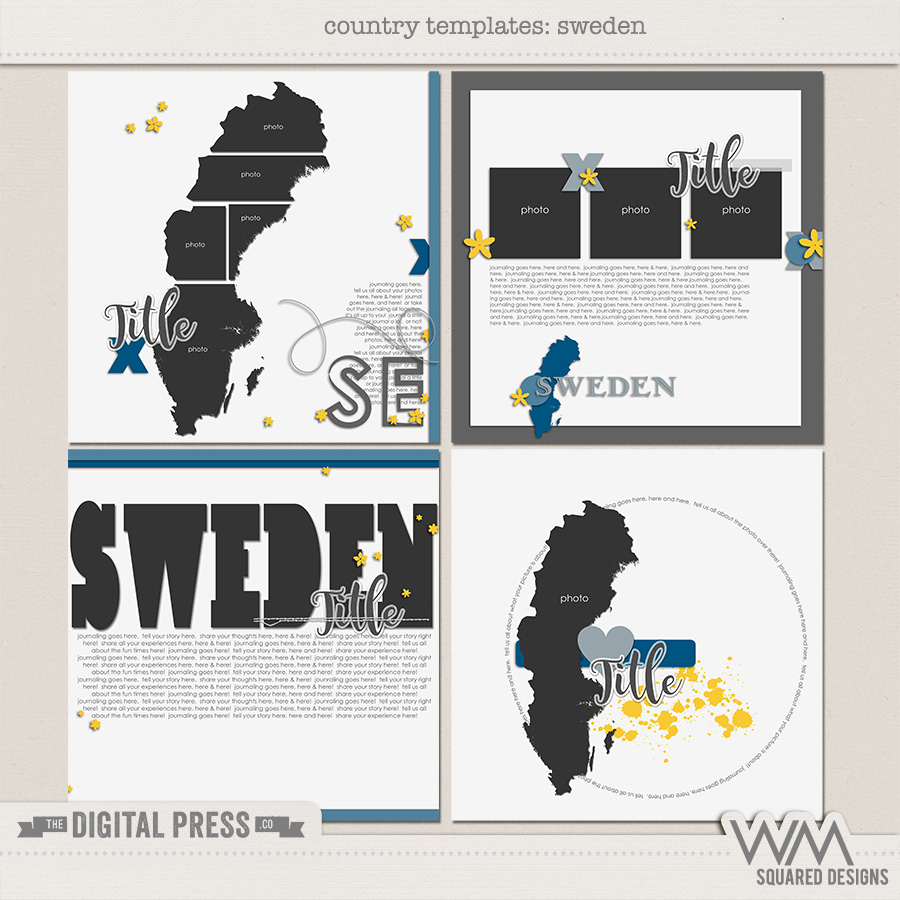 Country Templates | Sweden
