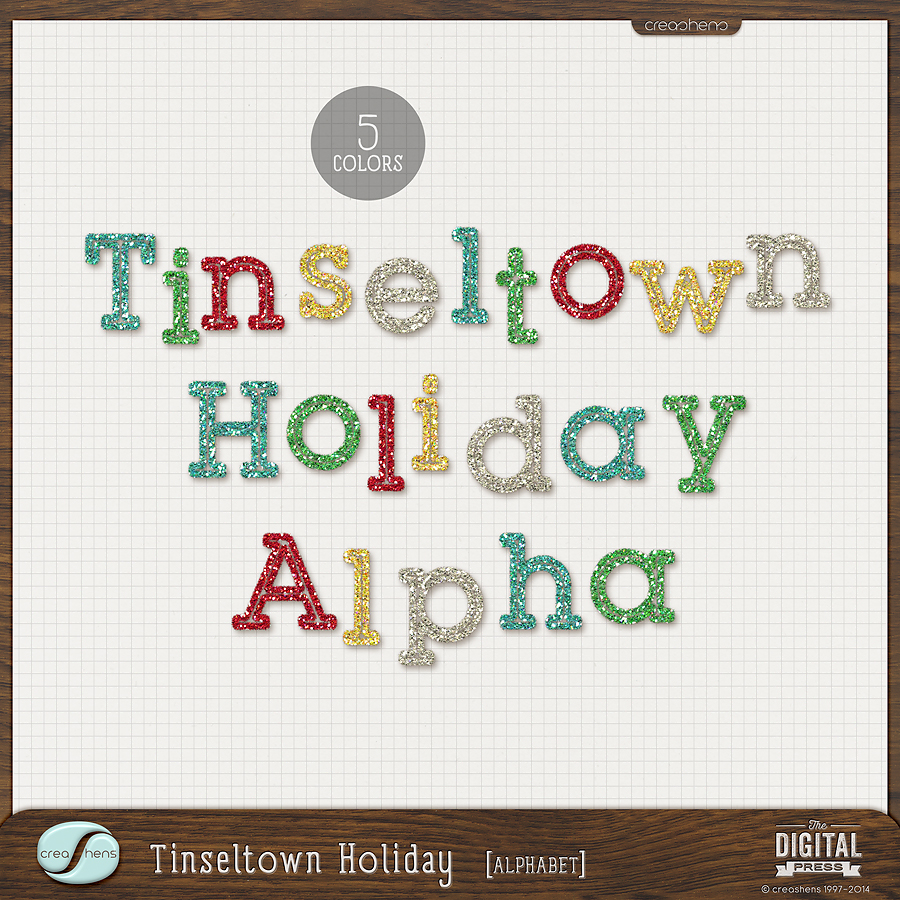 Tinseltown | Holiday Alphabet