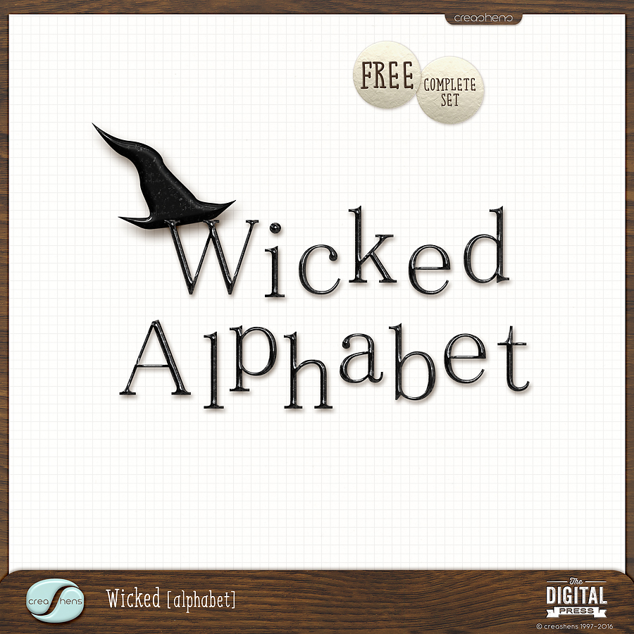 Wicked Alphabet