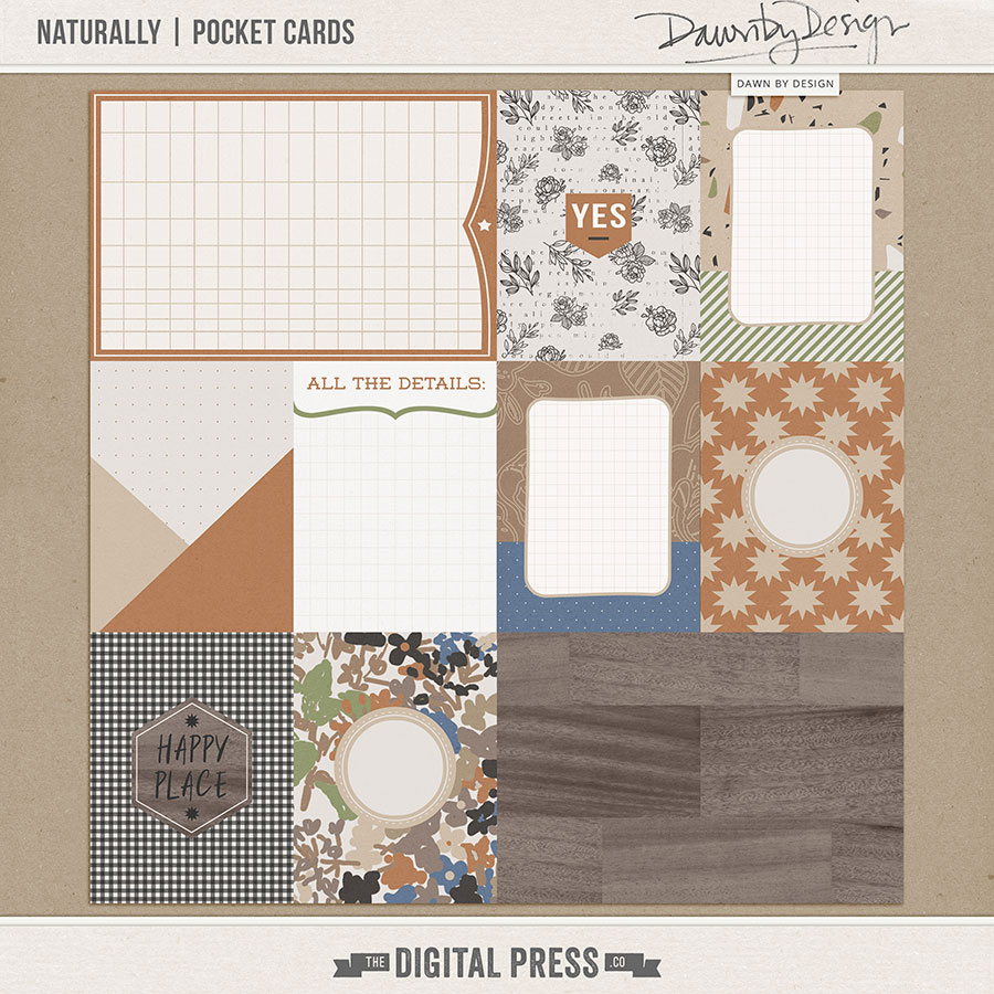 Naturally | Pocket Cards