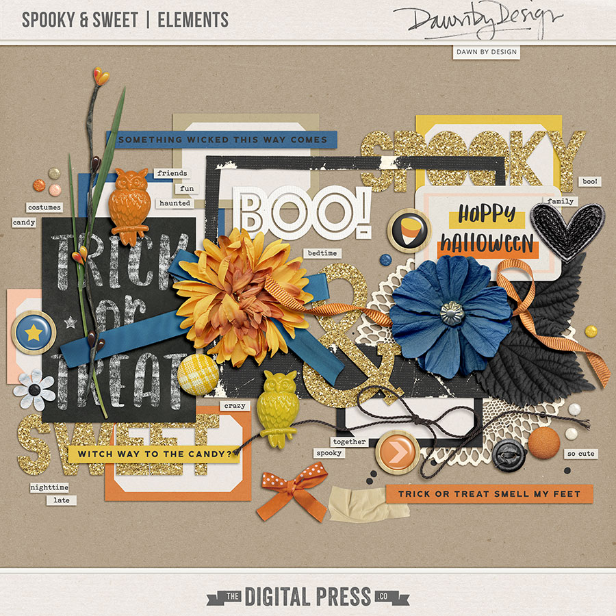 Spooky & Sweet | Elements