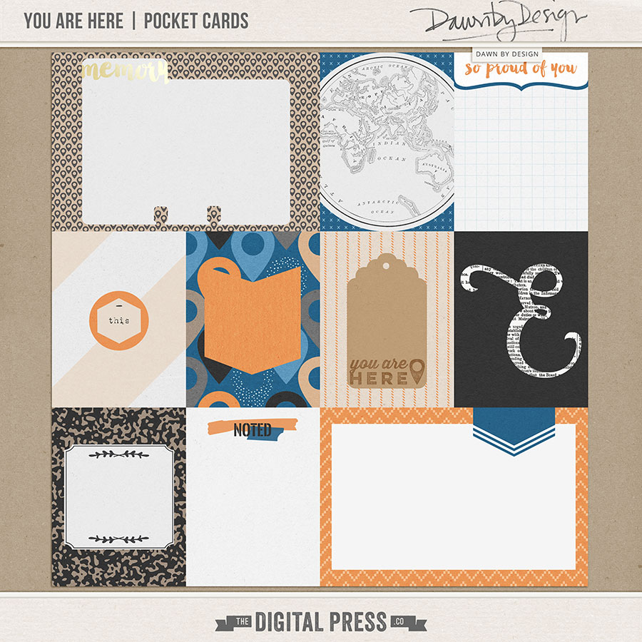 You Are Here | Pocket Cards