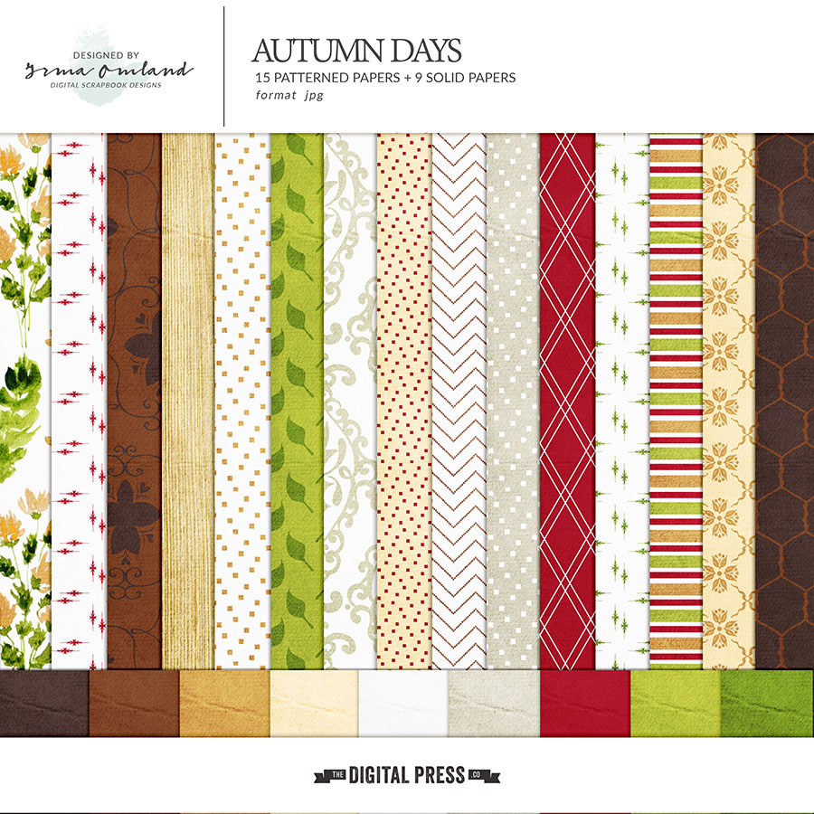 Autumn Days - Papers