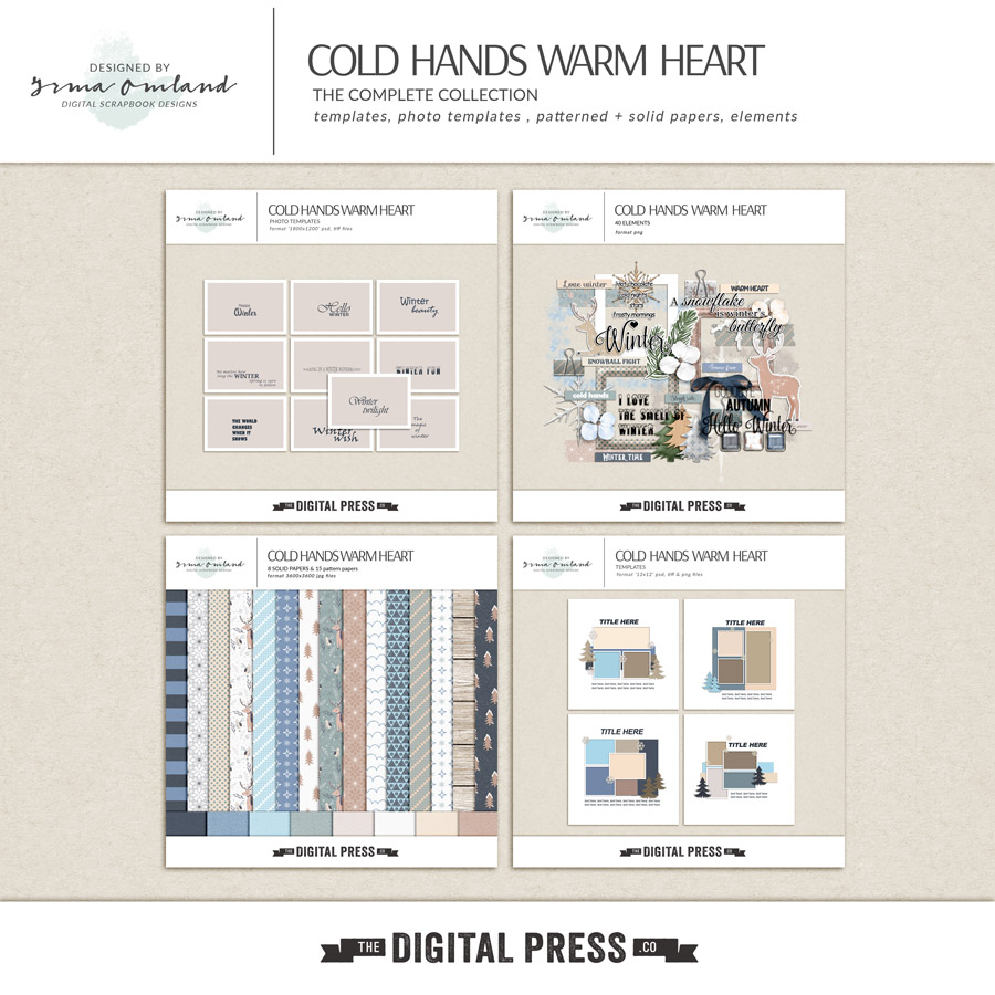 Cold Hands Warm Heart - Bundle