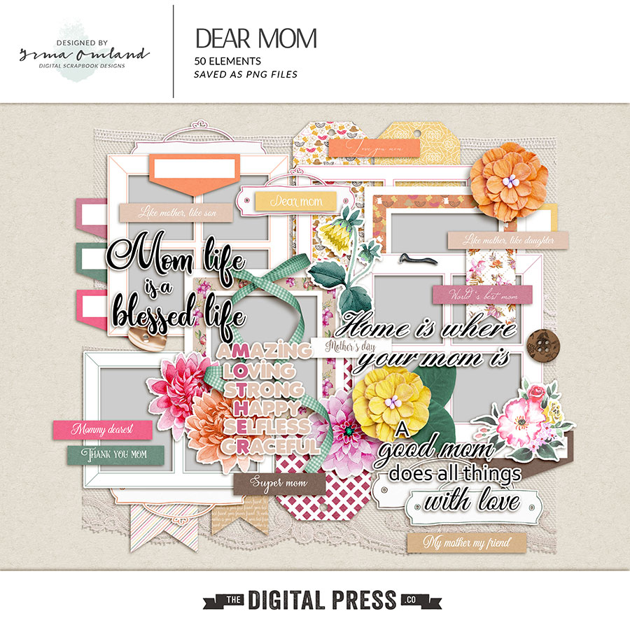 Dear Mom - Elements