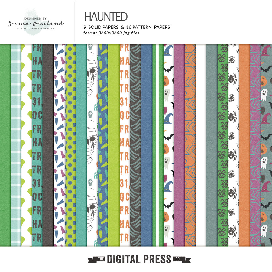 Haunted - Papers