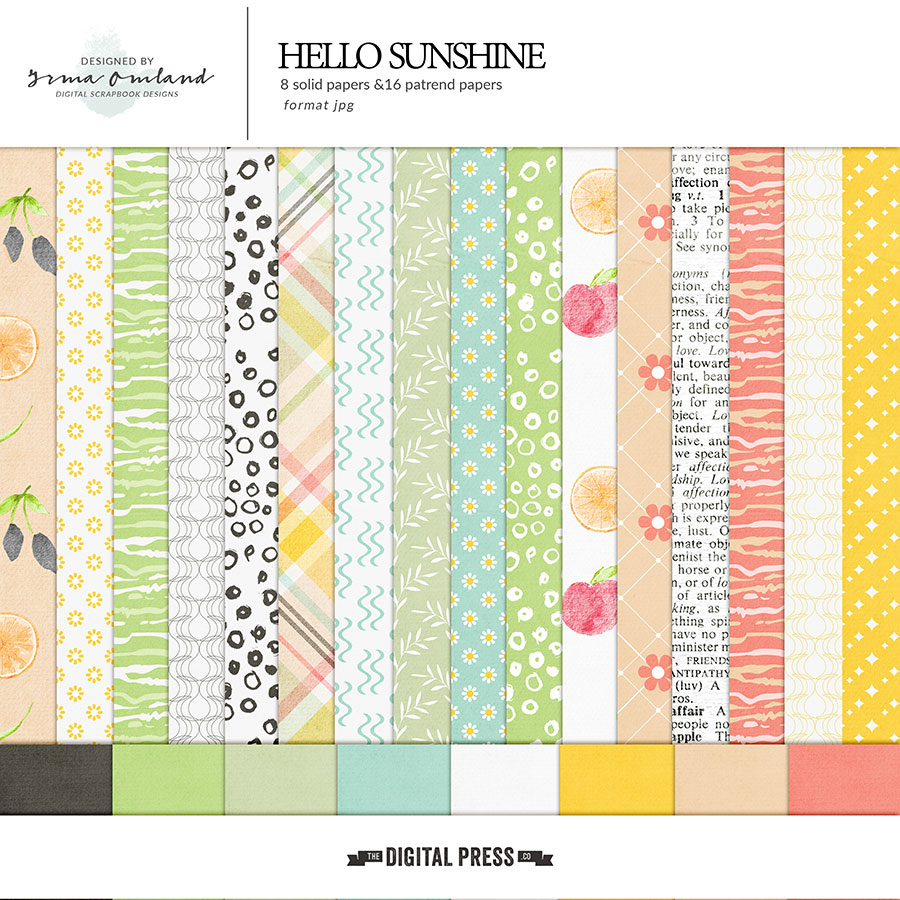 Hello sunshine - papers