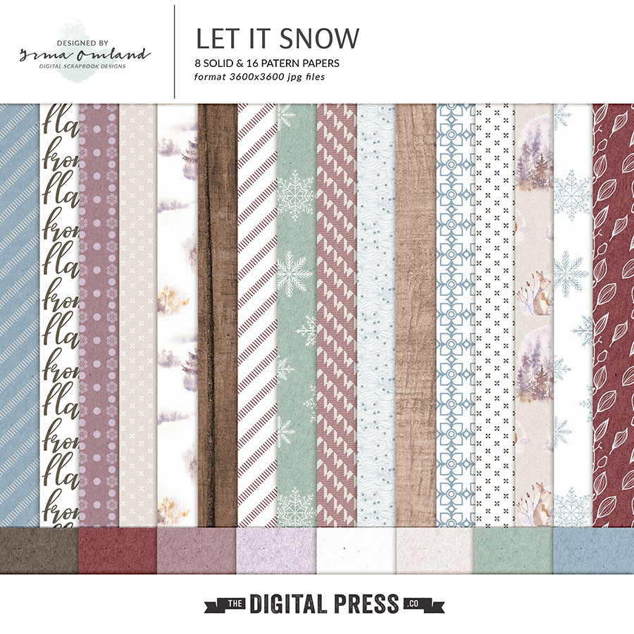 Let it Snow - Papers