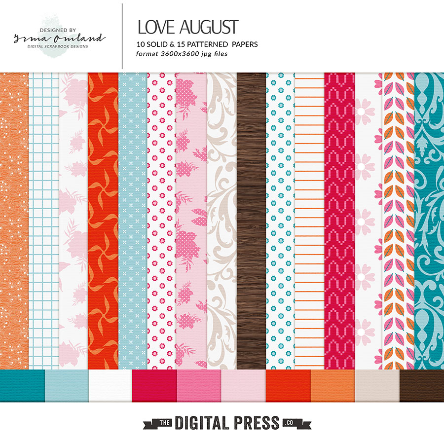 Love August - Paper Pack
