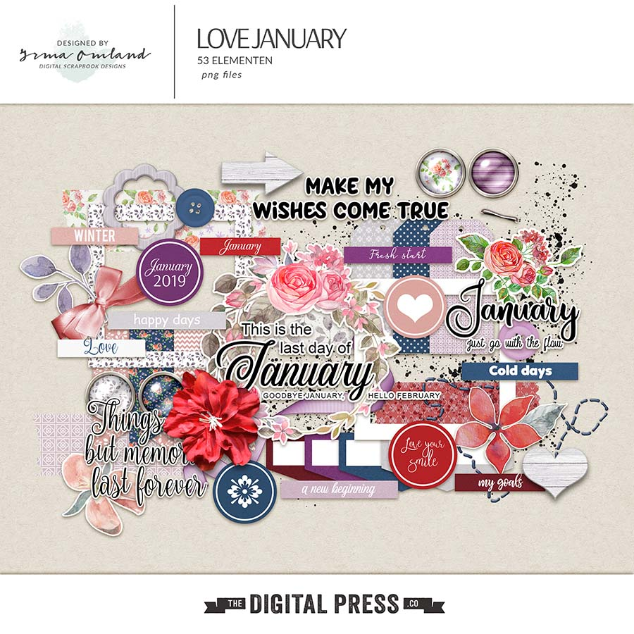 Love January - elements