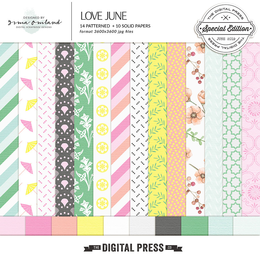 Love June - paper pack