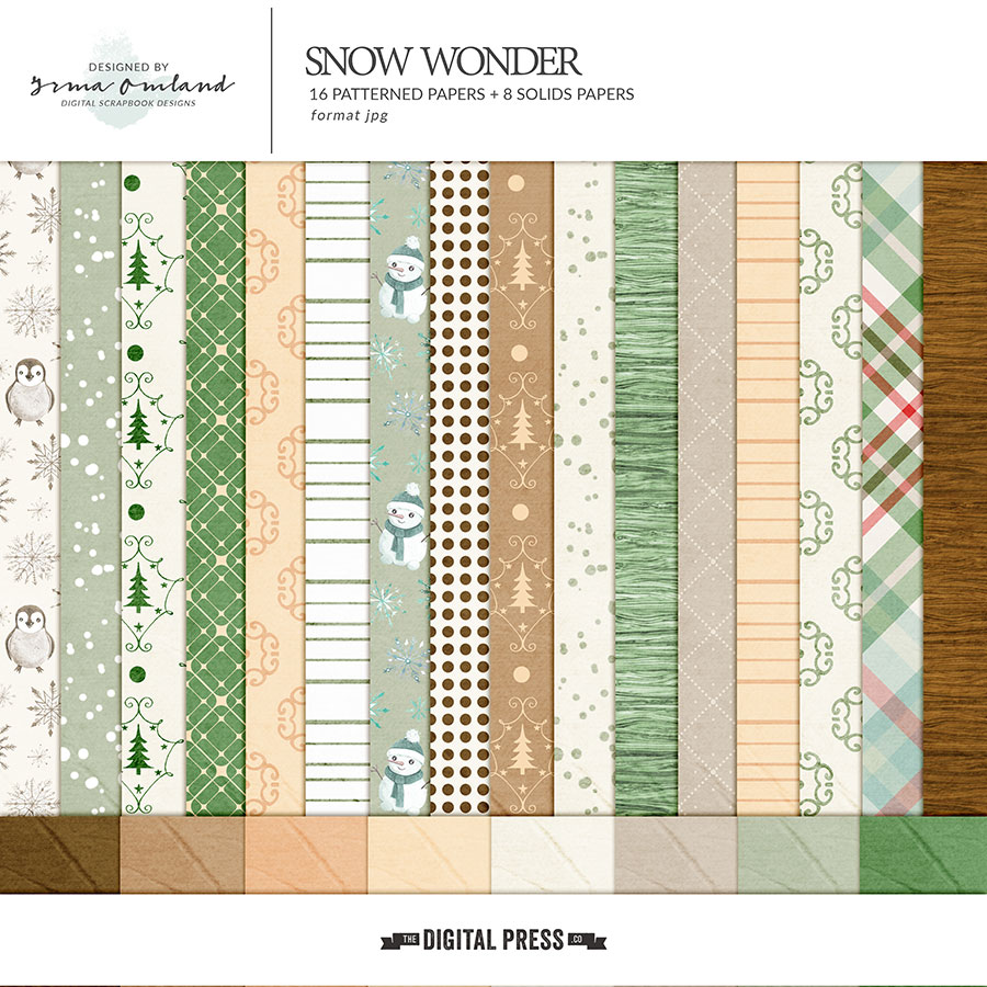 Snow Wonder - Papers