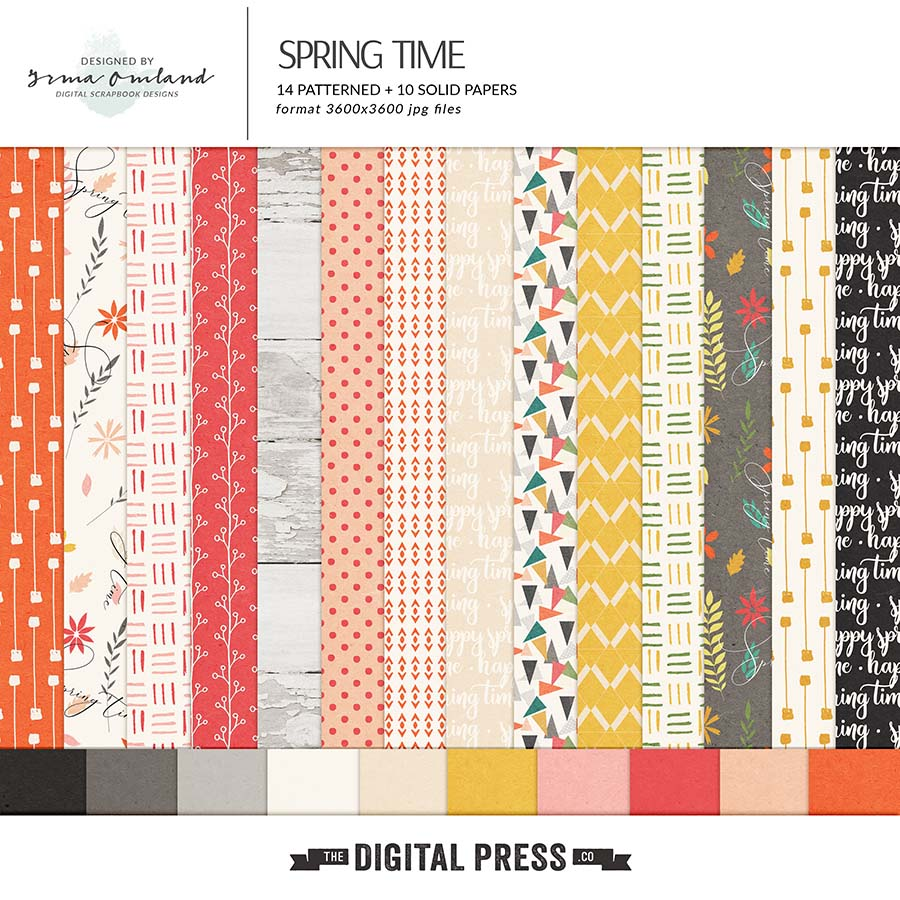 Spring Time - Paper Pack