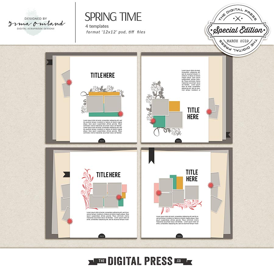 Spring time - templates