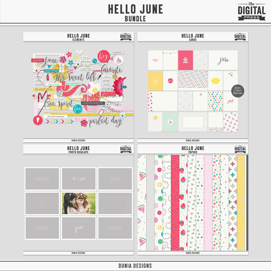 Hello June | Bundle