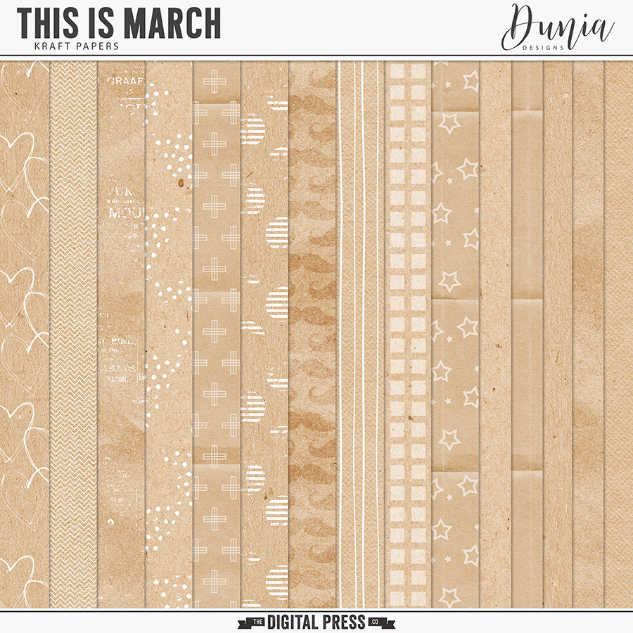 This is March   Kraft Papers