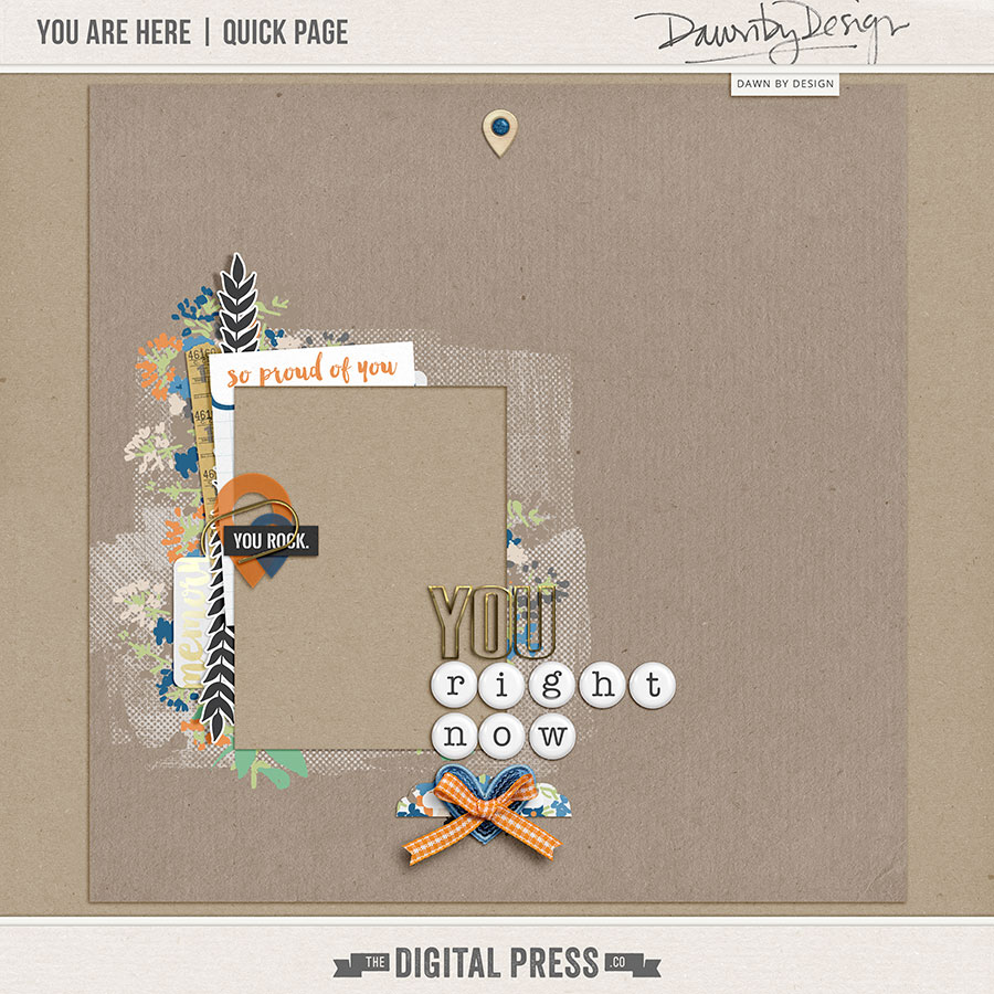 You Are Here | Quick Page