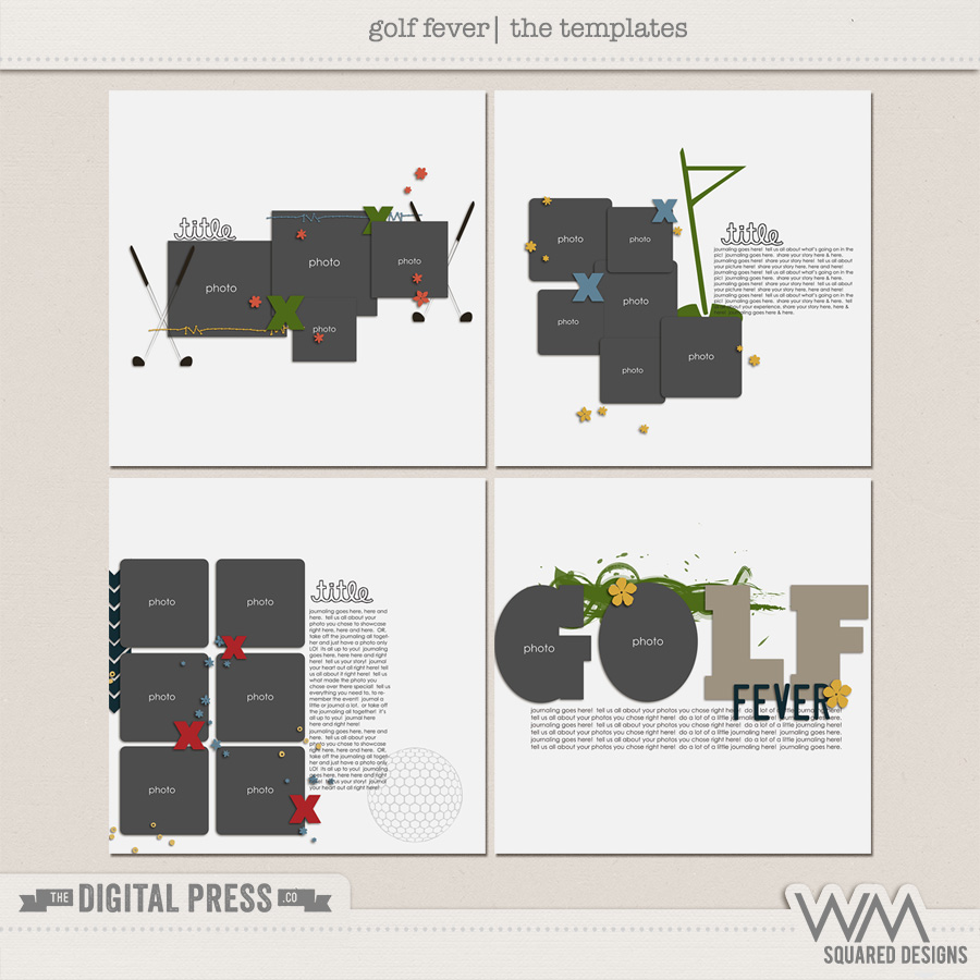 Golf Fever | The Templates