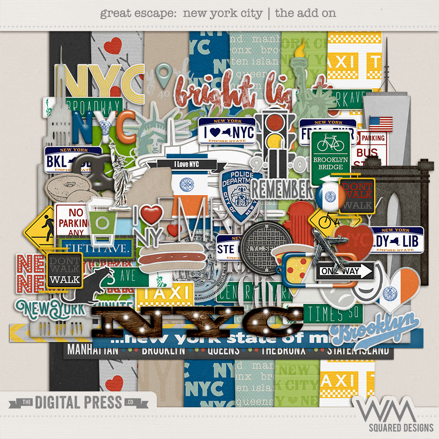 Great Escape:  New York City   Add On Kit