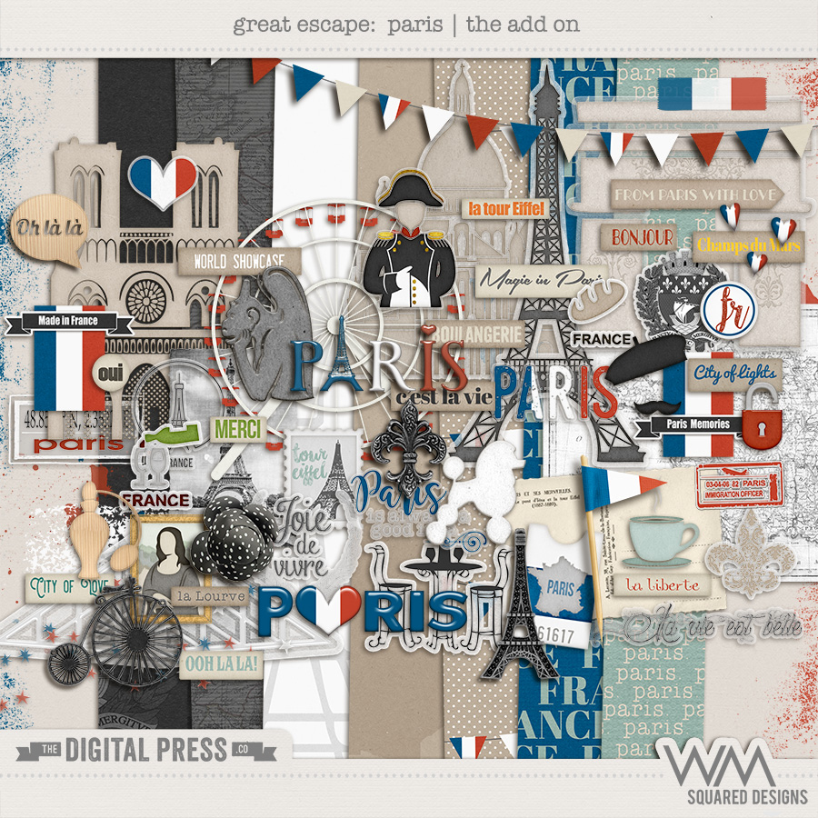 Great Escape:  Paris | The Add On Kit