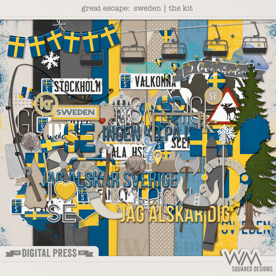 Great Escape:  Sweden | The Kit
