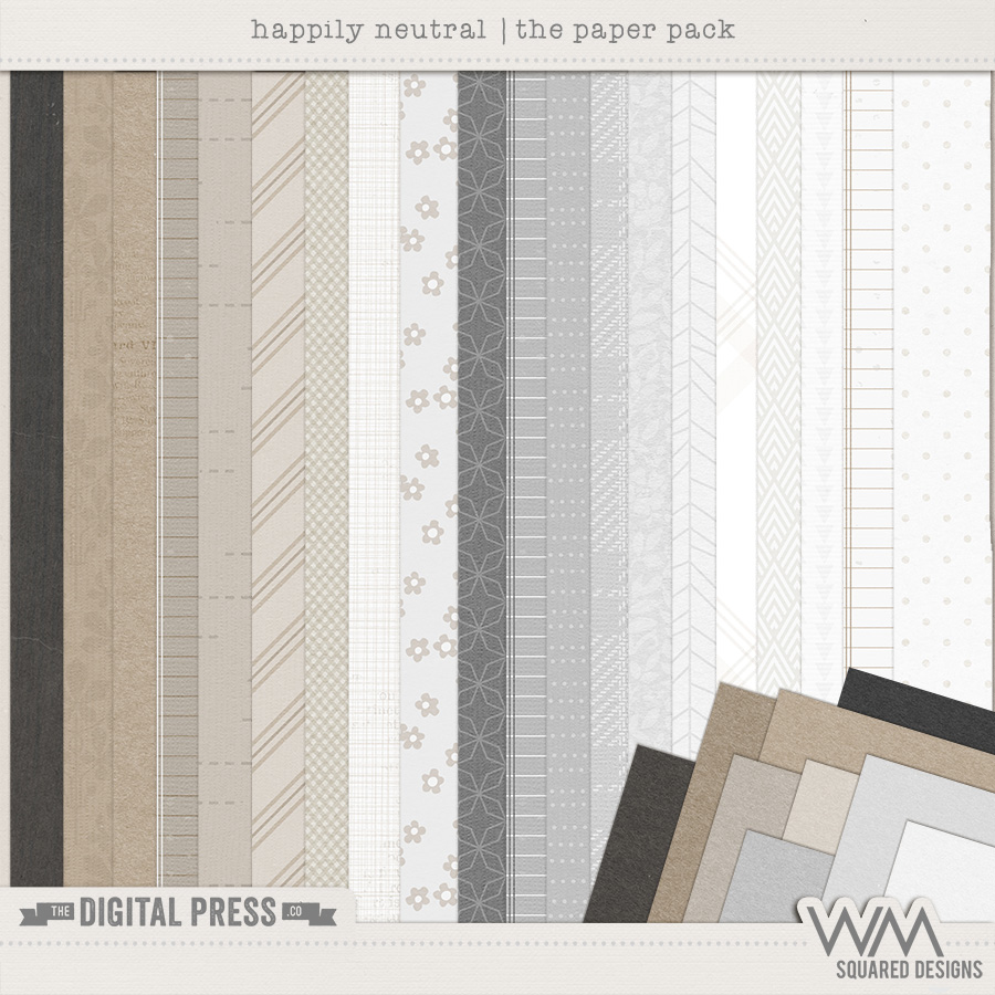 Happily Neutral | The Paper Pack