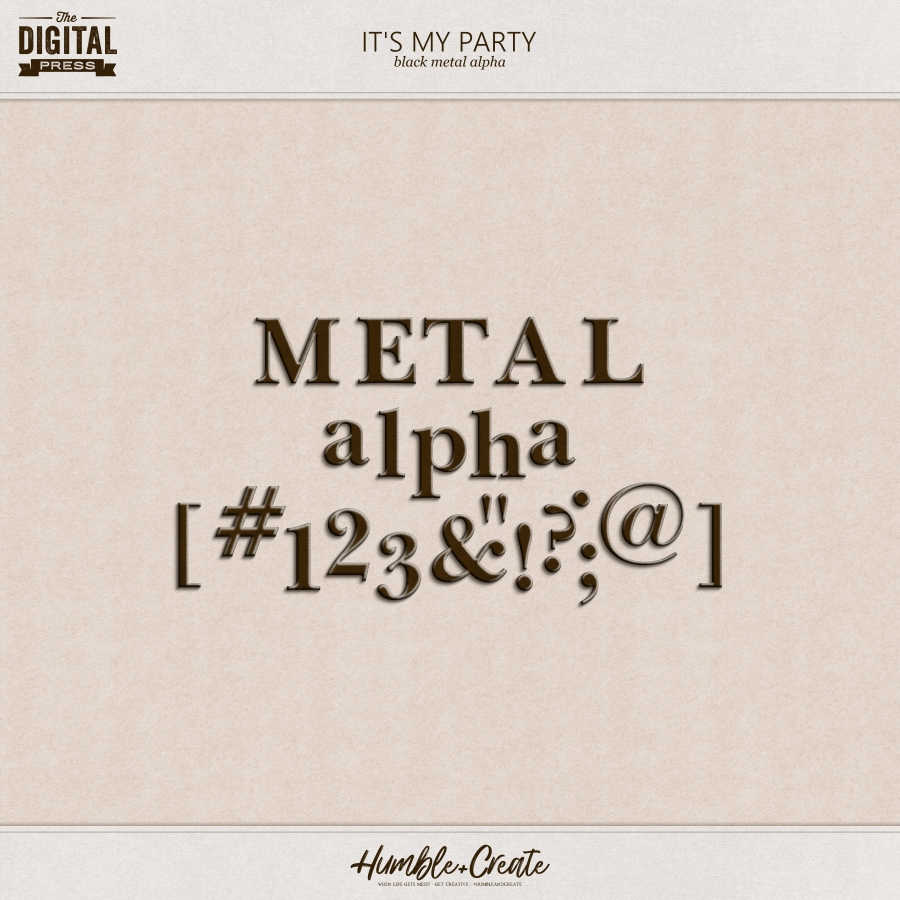 Its My Party | Black Metal Alpha
