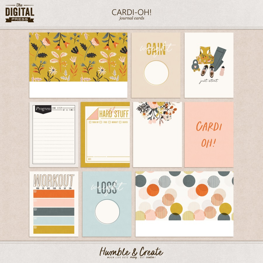 Cardi-Oh! | Journal Cards