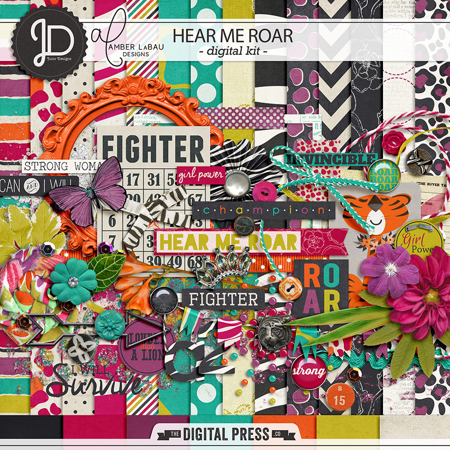 Hear Me Roar by Juno Designs and Amber LaBau