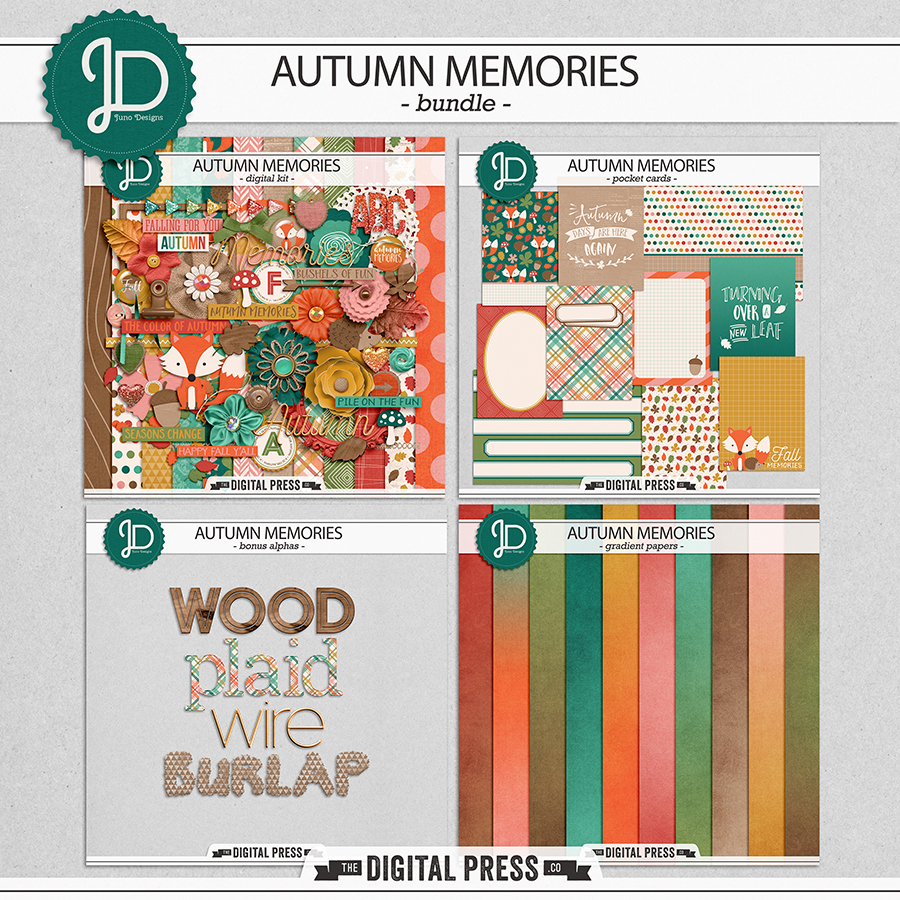 Autumn Memories | Bundle