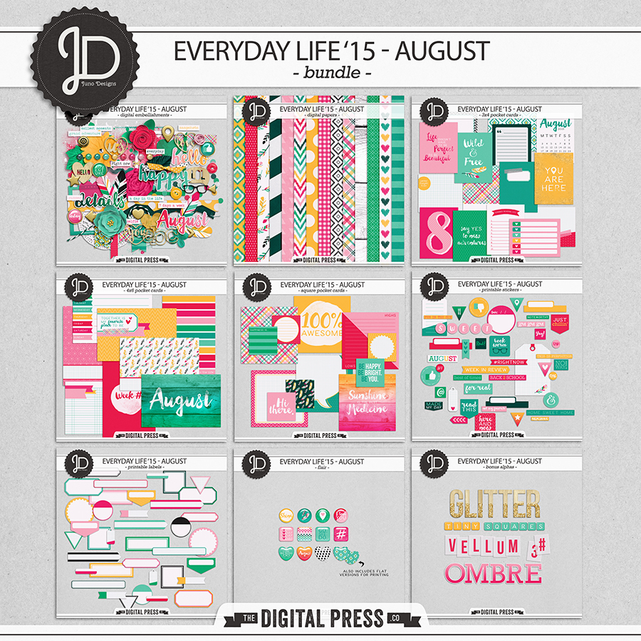 Everyday Life '15 - August | Bundle