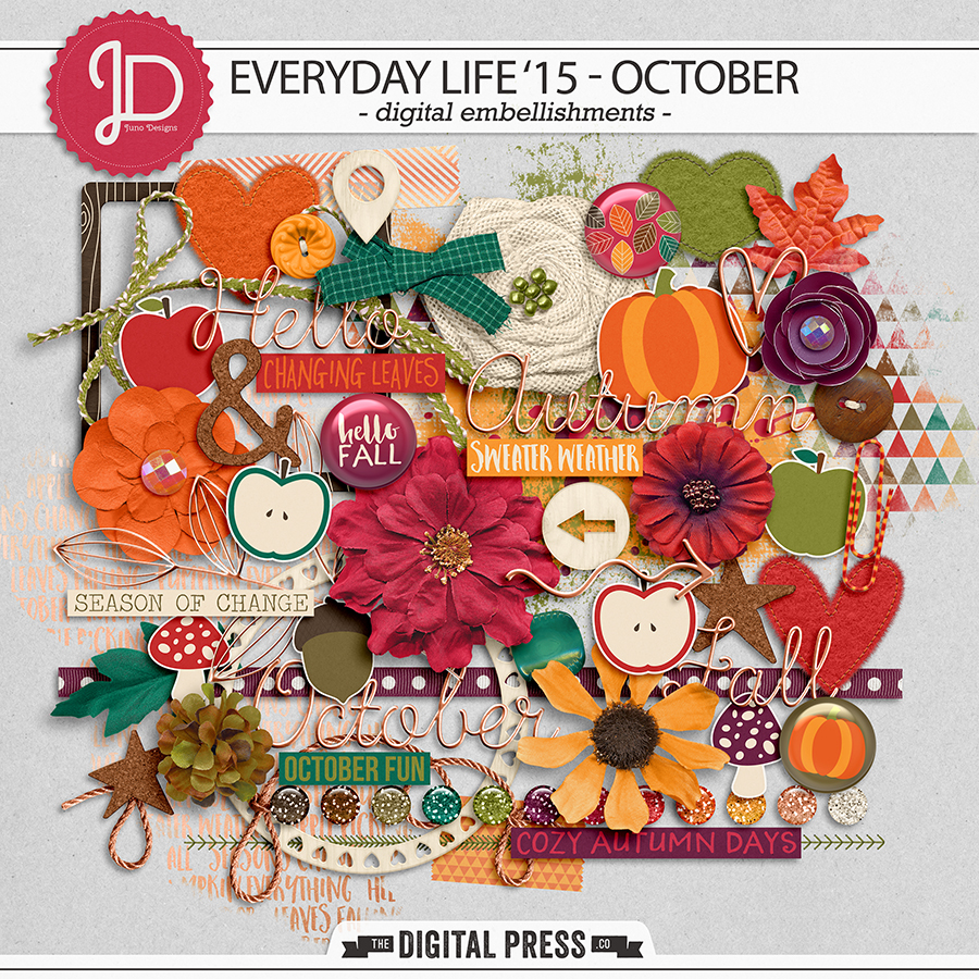 Everyday Life '15 - October | Elements