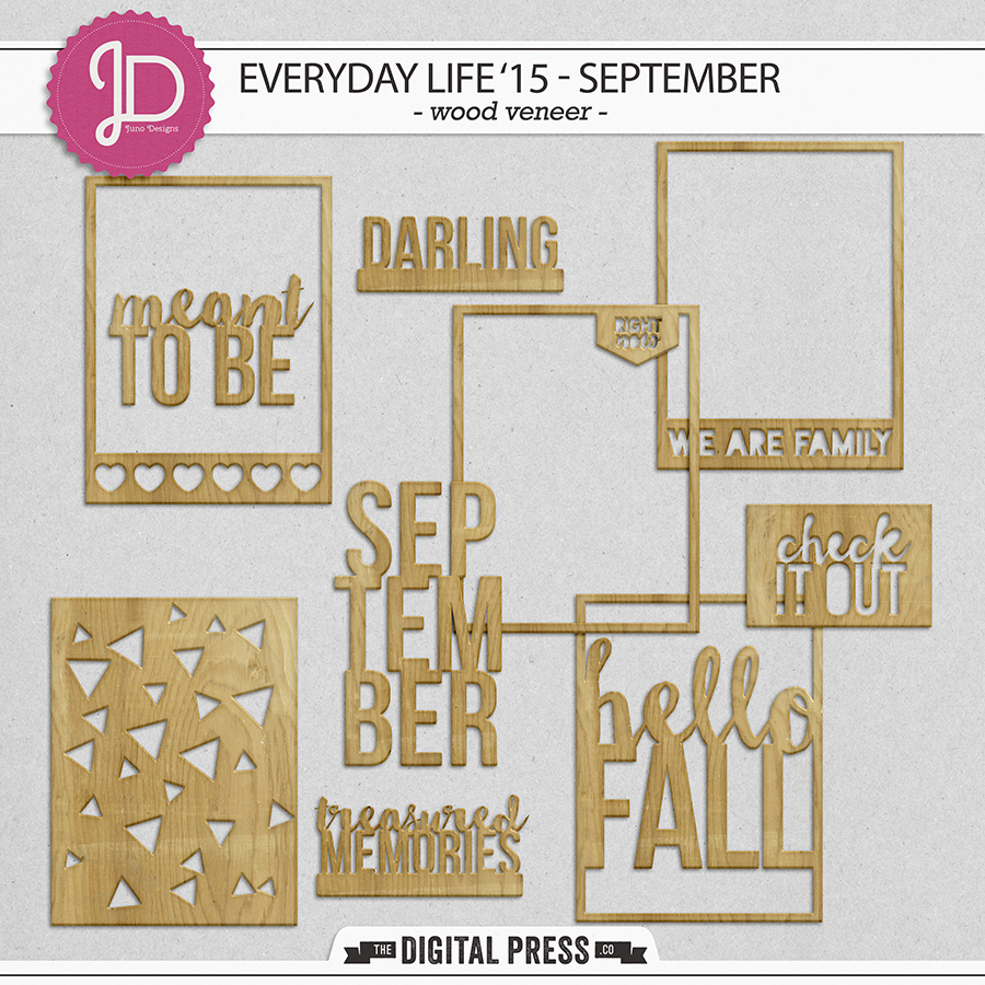 Everyday Life '15 - September| Wood Veneer