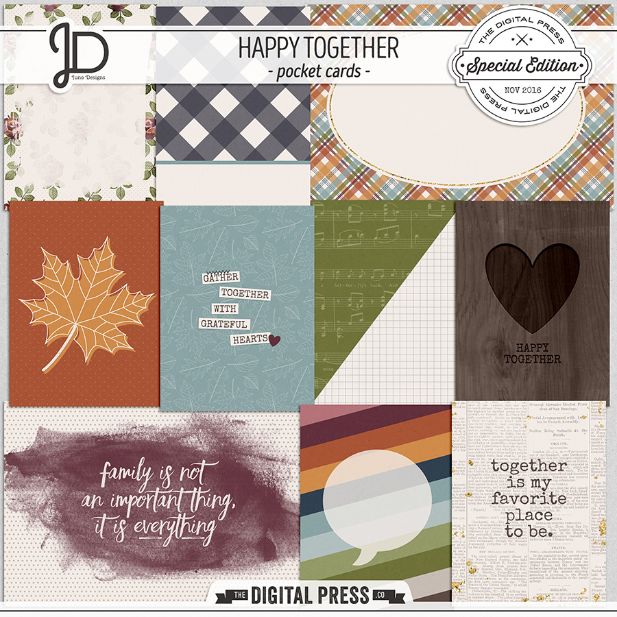 Happy Together | Pocket Cards