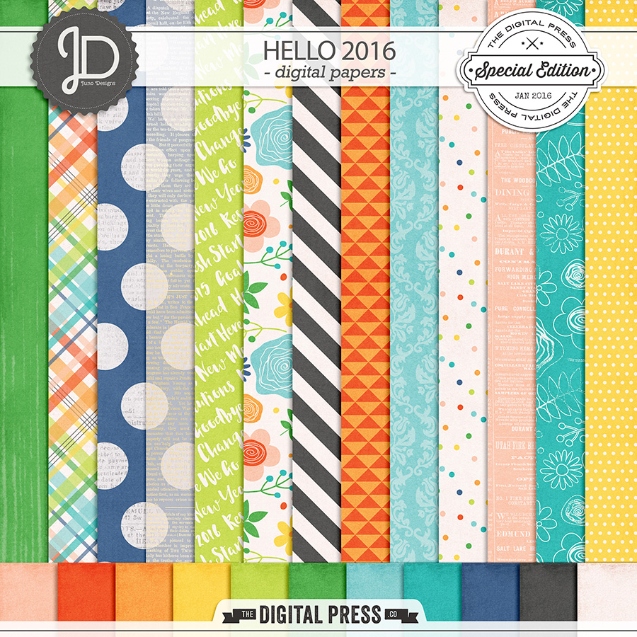 Hello 2016 | Papers