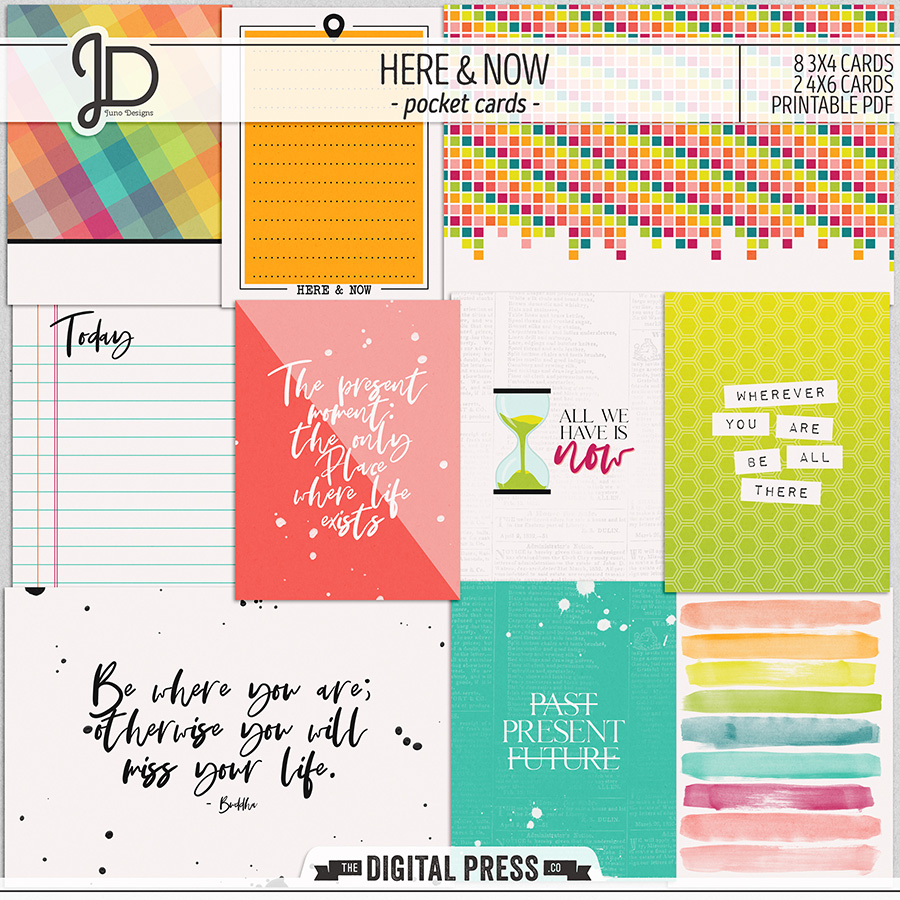 Here And Now | Pocket Cards