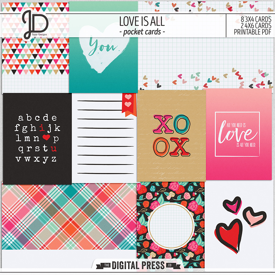 Love Is All | Pocket Cards
