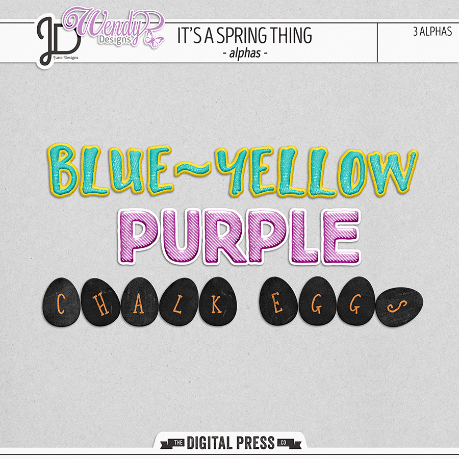 It's a Spring Thing | Alphas