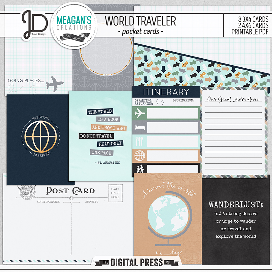 World Traveler | Pocket Cards