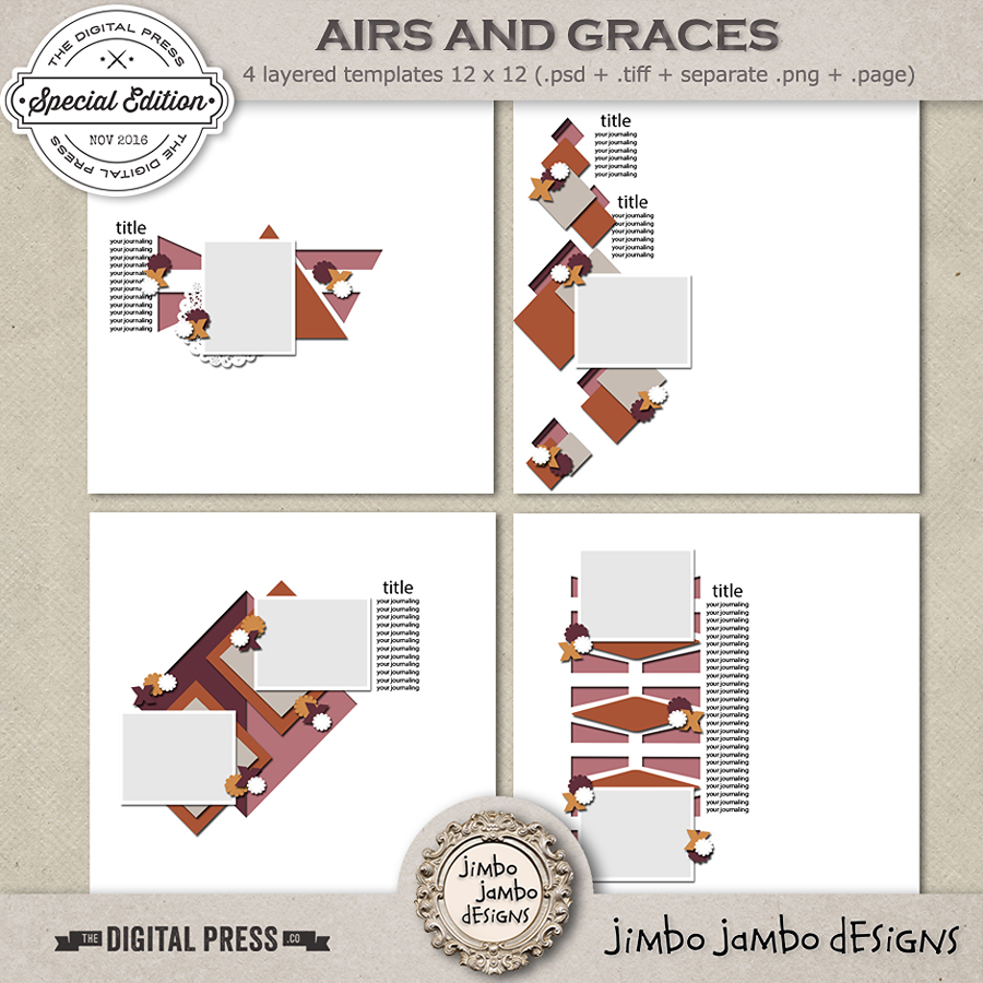 Airs and graces | Templates