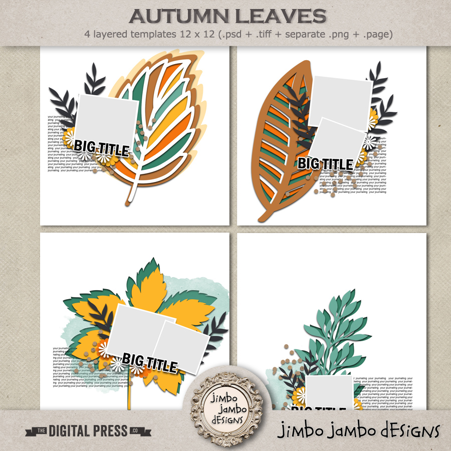 Autumn leaves | Templates