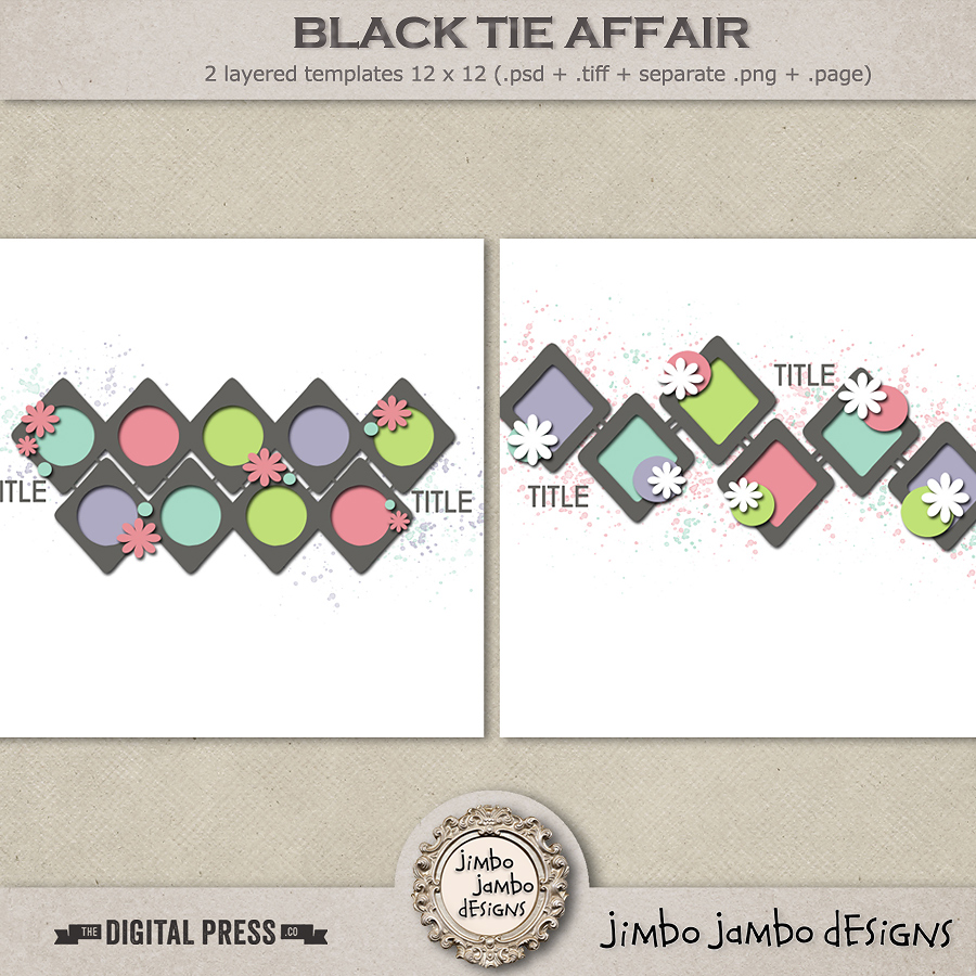 Black tie affair | Templates