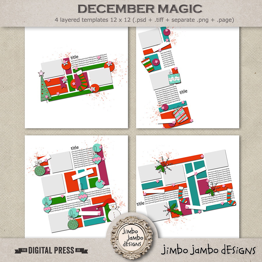 December magic | Templates